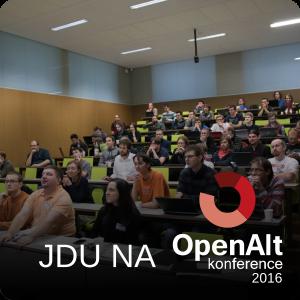 Jdu na OpenAlt 2016